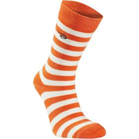 Ivanhoe of Sweden Stripe Uldsokker, orange